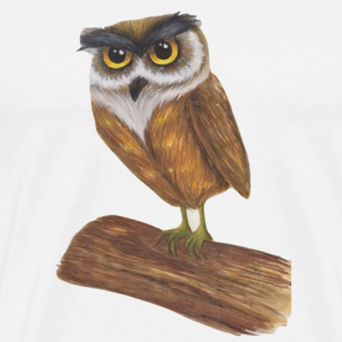 hiboux - T-shirt Premium Homme