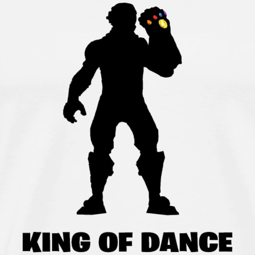 Thanos King of Dance - Männer Premium T-Shirt