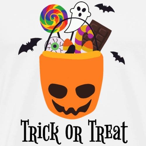 Trick or Treat   Halloween   LGBT - Men's Premium T-Shirt