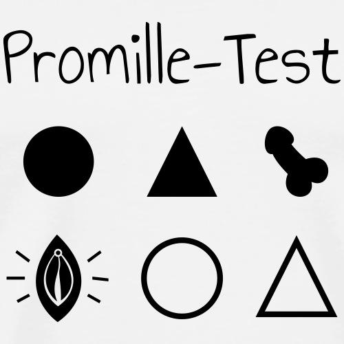 Der ultimative Promille-Test! Bestehst du ihn? - Männer Premium T-Shirt