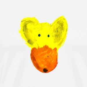 Pooh orange muzzle - Men's Premium T-Shirt