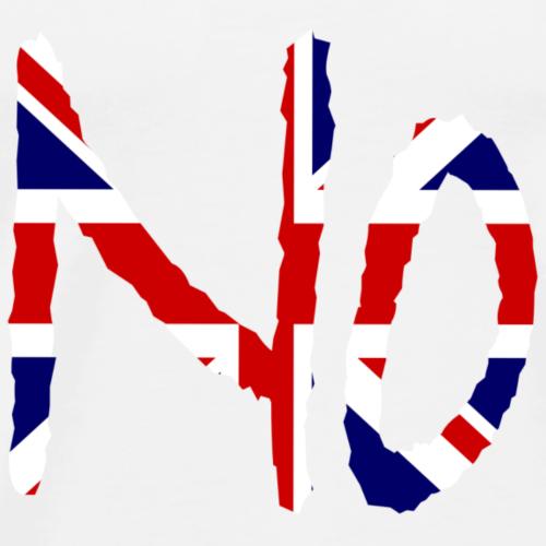 Nein auf Englisch - Männer Premium T-Shirt