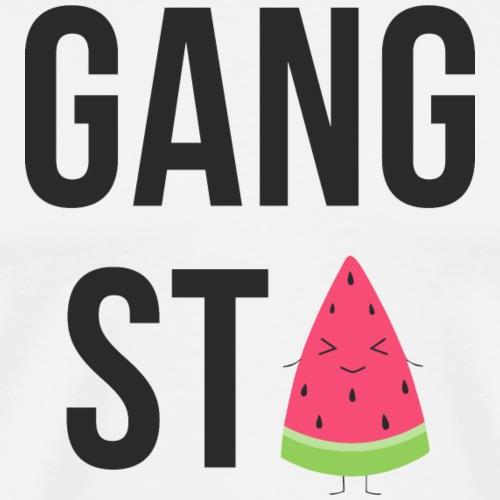Gangsta Watermelon - Männer Premium T-Shirt