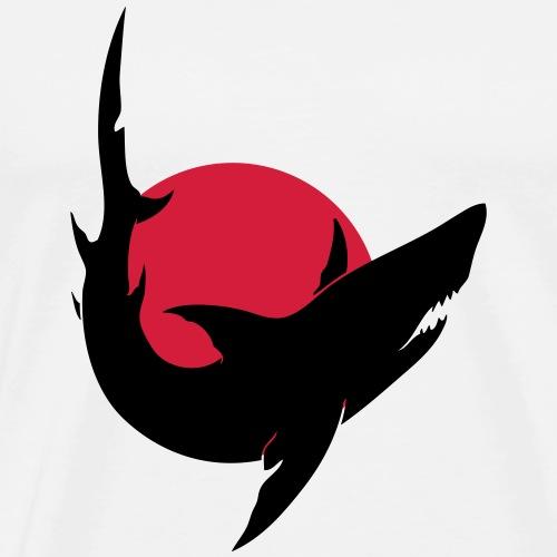 In Asien werden unzählige Haie abgeschlachtet - Männer Premium T-Shirt