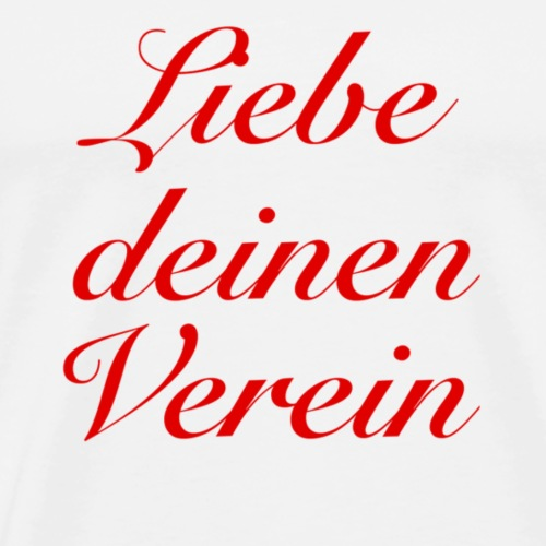 Verein - Männer Premium T-Shirt