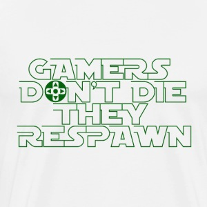 Gamer - Respawn - Premium-T-shirt herr
