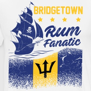 Rum T-shirt Fanatique - Bridgetown - Barbade - T-shirt Premium Homme