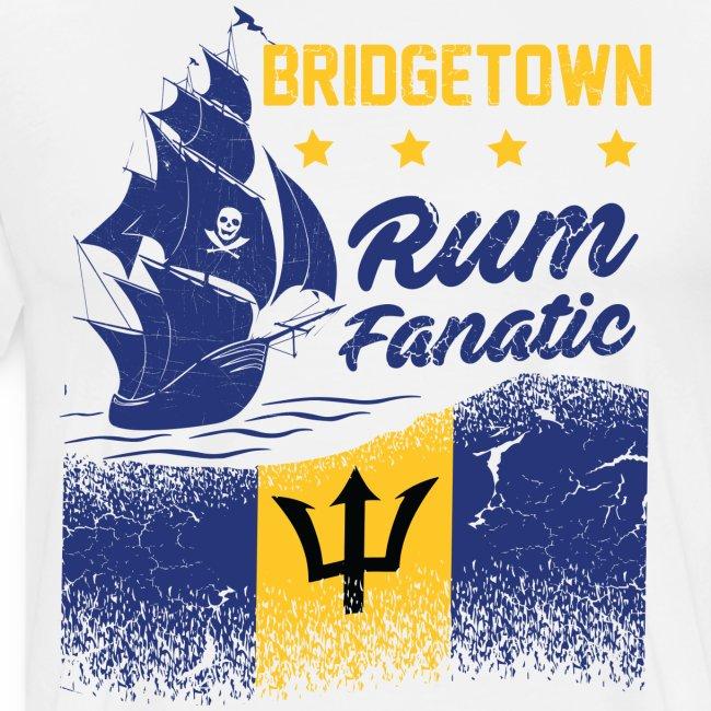 T-shirt Rum Fanatic - Bridgetown - Barbados