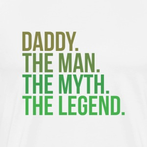 Parents daddy the man - Men's Premium T-Shirt