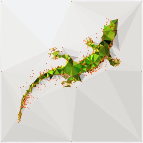 gecko climbing - Männer Premium T-Shirt