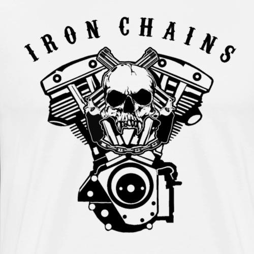 Iron Chains engine - Männer Premium T-Shirt