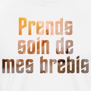 Prends soin de mes brebis - T-shirt Premium Homme
