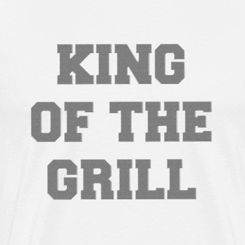 Don Detail KING OF THE GRILL - Männer Premium T-Shirt