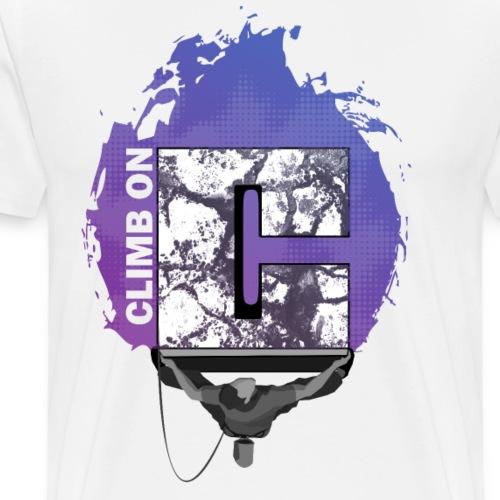 Climb on - Klettern Bouldern Shirt - Männer Premium T-Shirt