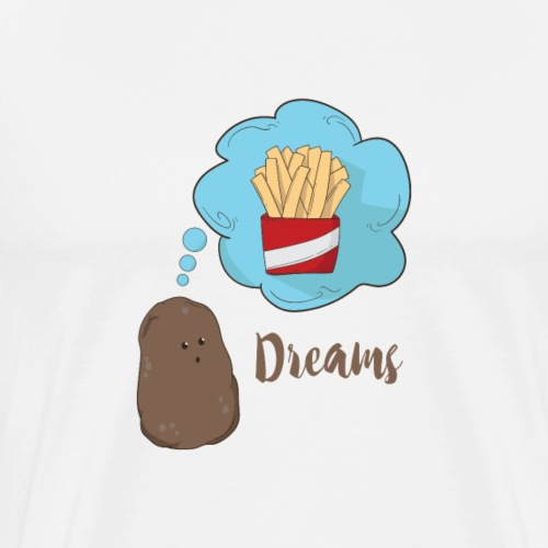 Dreams Of A Potato - Männer Premium T-Shirt