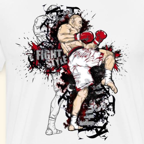 FIGHT STYLE 1 - T-shirt Premium Homme