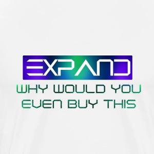 WHY - Mannen Premium T-shirt