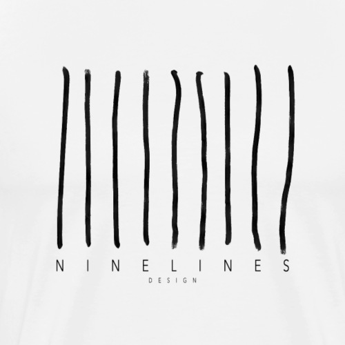 Ninelinesdesign Logo 1 - Männer Premium T-Shirt