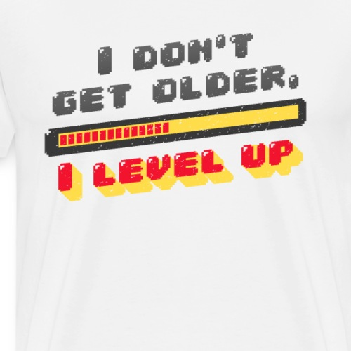 COOL LEVEL UP - Premium-T-shirt herr