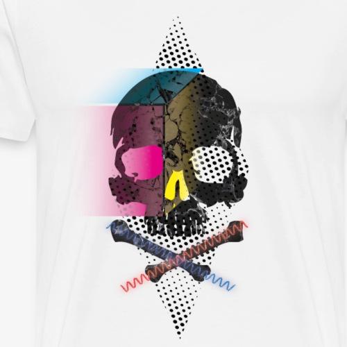 Skull_CYMB - T-shirt Premium Homme