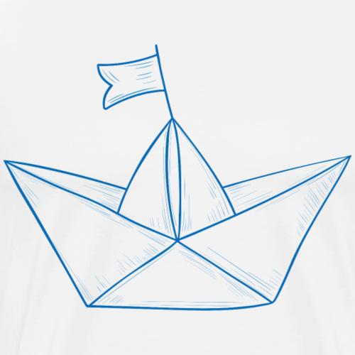 Paper Boat #2 - Männer Premium T-Shirt