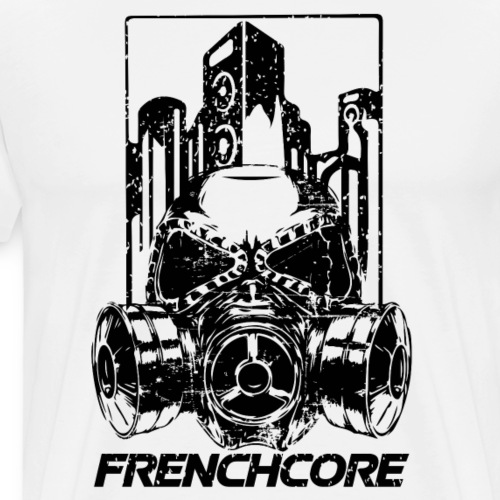 FRENCHCORE (black Design) - Männer Premium T-Shirt