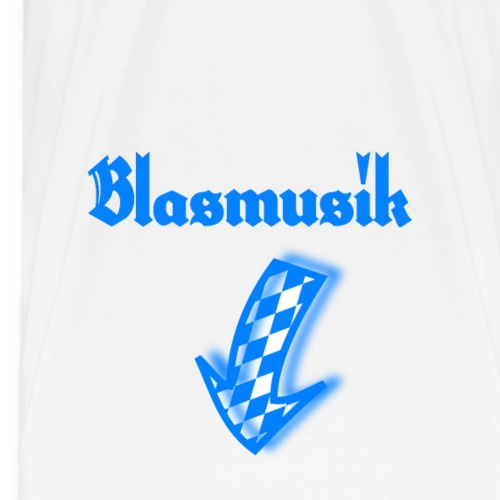 Männerklamotte für das Oktoberfest Blasmusik - Männer Premium T-Shirt