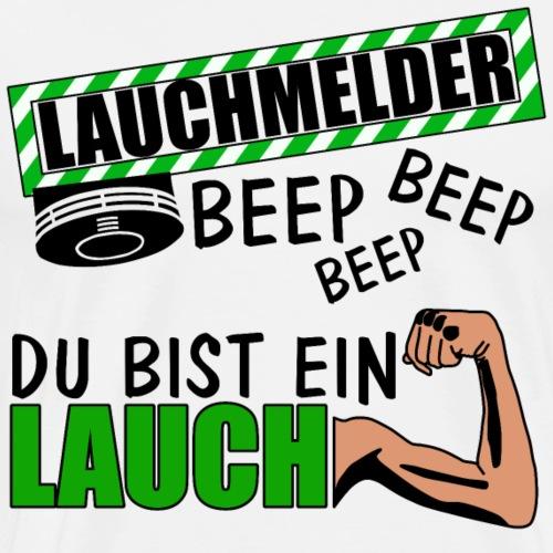 Lauchmelder - Lauch - Lappen - Geschenkidee - Männer Premium T-Shirt