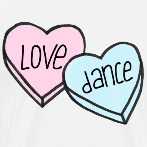 Love 2 Dance - Männer Premium T-Shirt