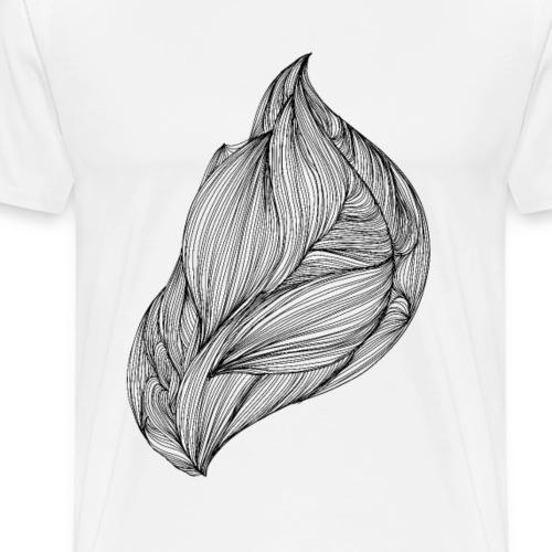 flow, abstract doodle - Maglietta Premium da uomo
