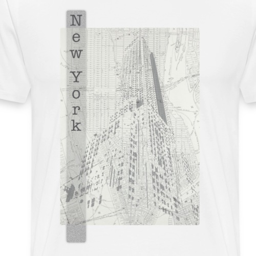 New York - Miesten premium t-paita