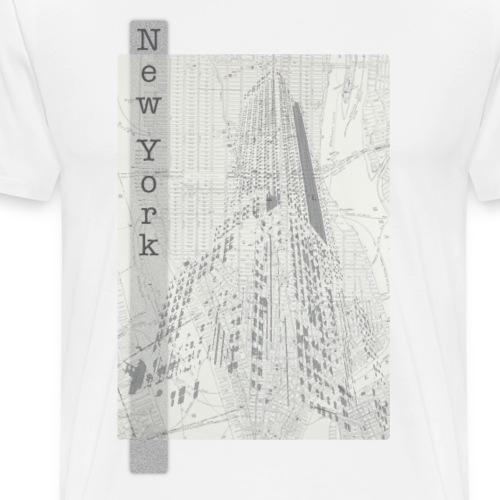 New York - Premium T-skjorte for menn