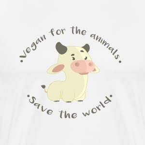 -Save the world - Men's Premium T-Shirt