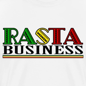 Rasta Business - Premium-T-shirt herr