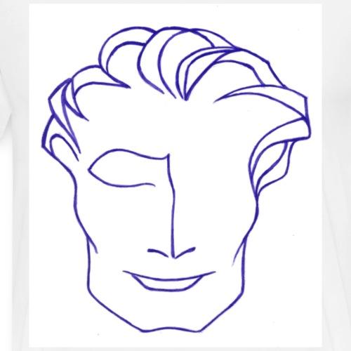 Mr solaire violet - T-shirt Premium Homme