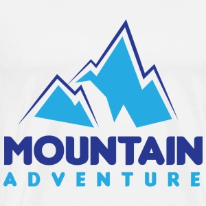 Mountain Adventure - Mannen Premium T-shirt