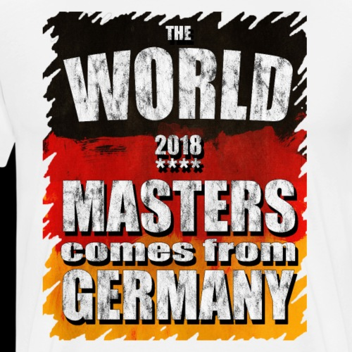 The World Master 2018 comes from Germany - Männer Premium T-Shirt