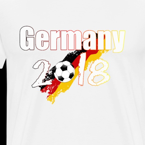 Football Germany 2018 - Männer Premium T-Shirt