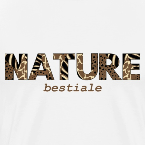 Nature Bestiale - T-shirt Premium Homme