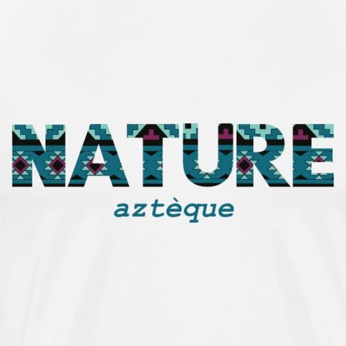 Nature Aztèque - T-shirt Premium Homme