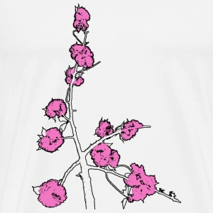 Pink Blossom Branch - Men's Premium T-Shirt