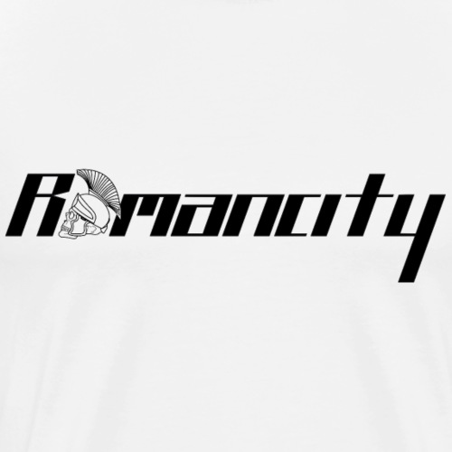 Romancity Logo Black - Men's Premium T-Shirt