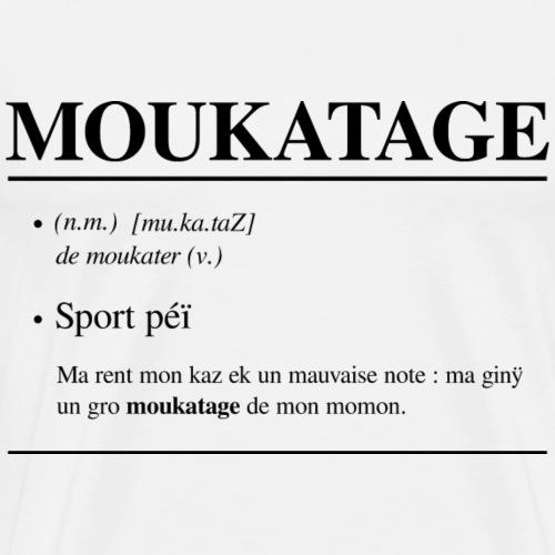 Moukatage - T-shirt Premium Homme