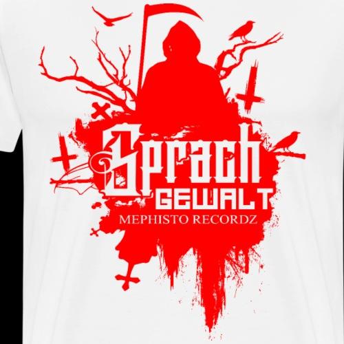 Sprachgewalt Graveyard Logo 2018 - Männer Premium T-Shirt