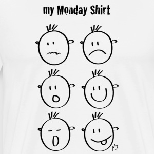 My monday shirt - Men's Premium T-Shirt