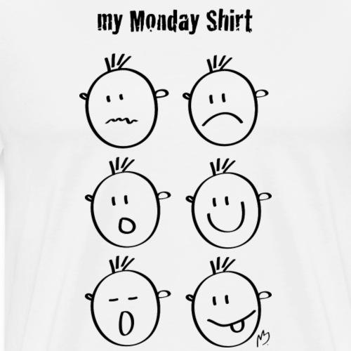 my monday shirt - Männer Premium T-Shirt