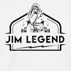 Jim Legend - Premium T-skjorte for menn