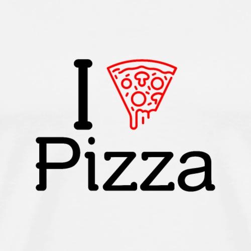 Ich Liebe Pizza-Shirt Geschenk - Männer Premium T-Shirt