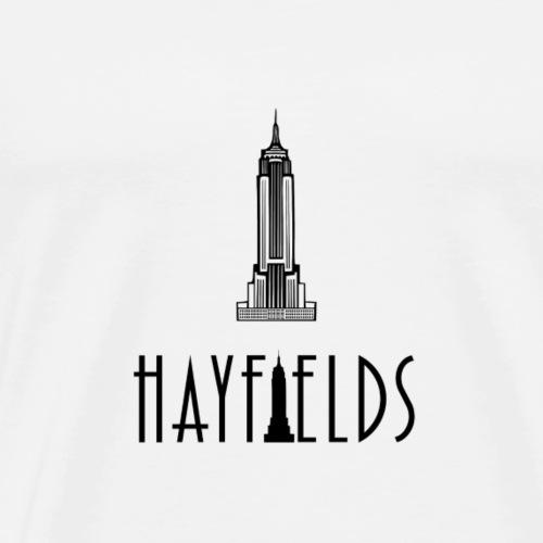 'HAYFIELDS' Logo - Men's Premium T-Shirt