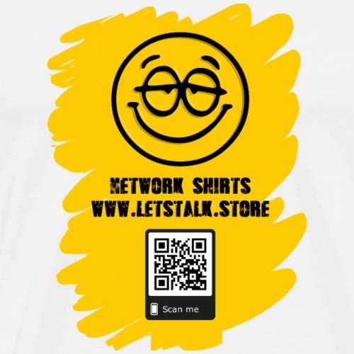 SMILEY Website Werbung - Männer Premium T-Shirt